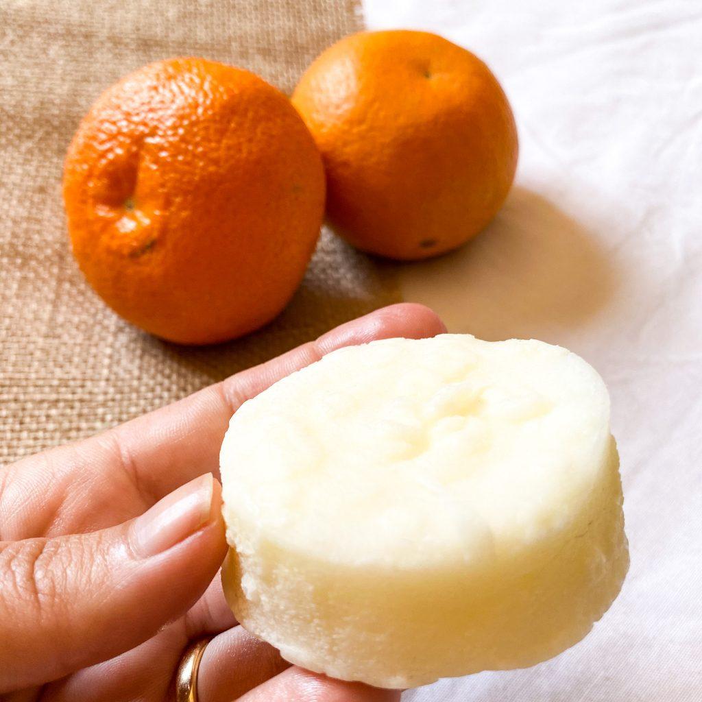 Acondicionador sólido de Mandarina
