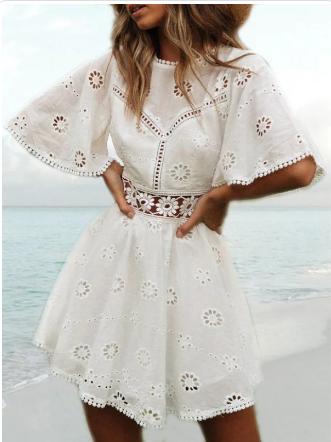 Vestido verano ummi blanco