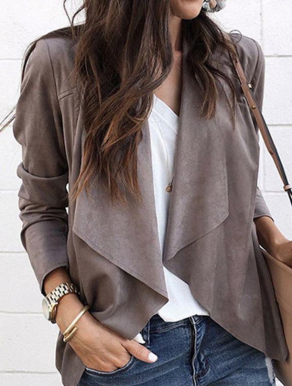 chaqueta con solapas