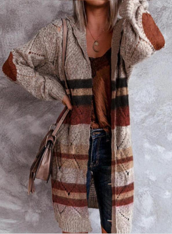 Cardigan boho para el frío